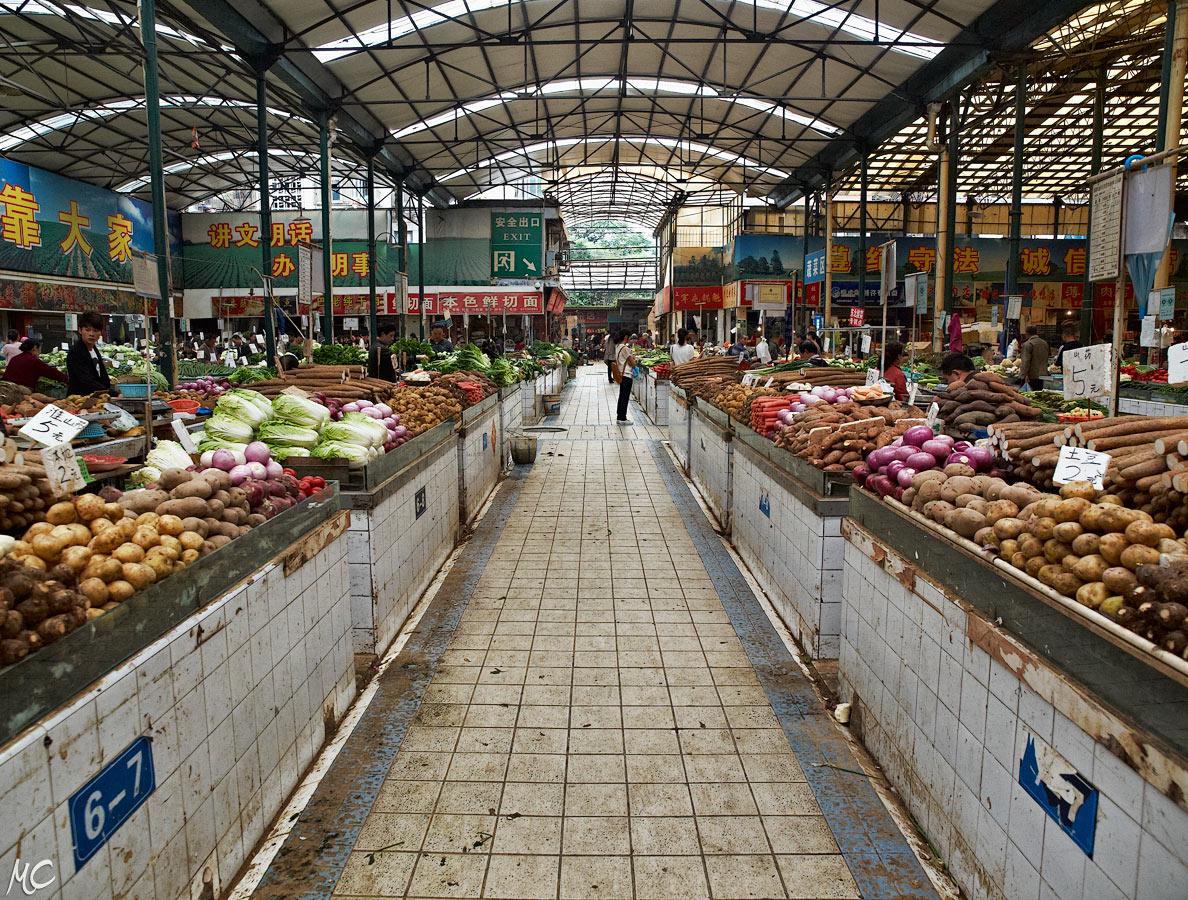 Fuqing Open Air Market – Chengdu, Sichuan, China » Scenes ...