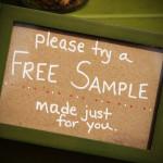 free sample burlington